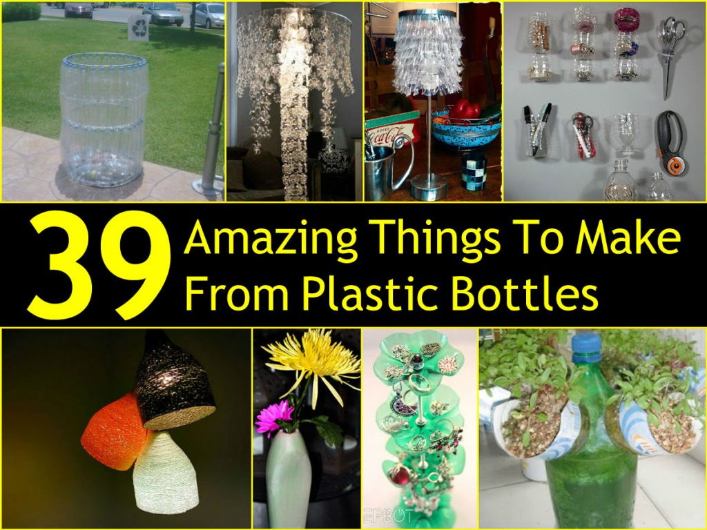 39 amazing things to make from plastic bottles for Waste things product