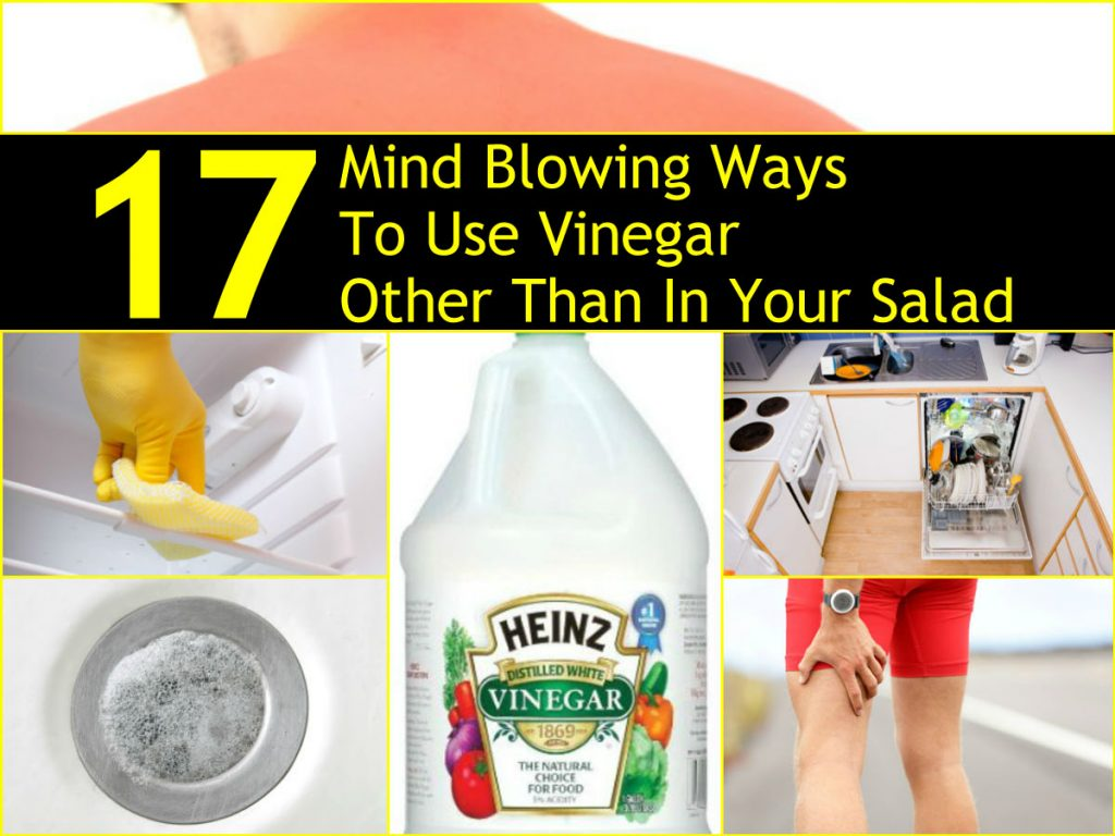 17 mind blowing ways to use vinegar other than in your salad. Black Bedroom Furniture Sets. Home Design Ideas