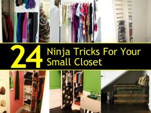 24 Ninja Tricks For Your Small Closet